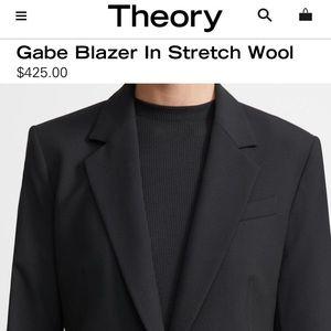 THEORY Stretch Wool Gabe Jacket  Blazer NWOTS